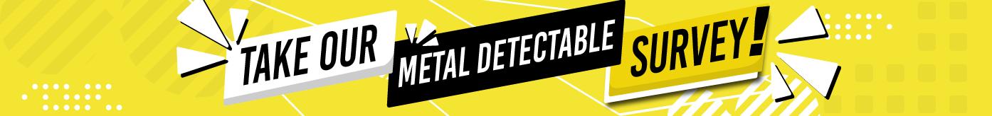 Metal detectable survey